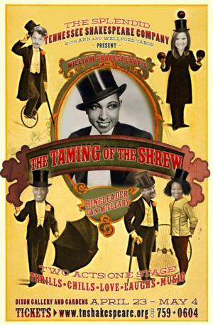 Tennessee Shakespeare Company to Present THE TAMING OF THE SHREW, 4/23-5/4