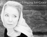 Grace Kiley Plays Grace Kelly in LONGING FOR GRACE at United Solo Festival, 11/2