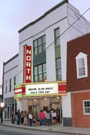 Historic North Theatre Presents Three Shows This Weekend: Comedy, Illusion, & Music 3/14-17