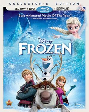Disney's FROZEN Set for Blu-Ray, DVD and VOD Release, 3/18
