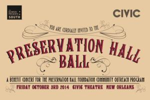 Preservation Hall Ball Benefit Concert Set for NOLA This October