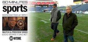 60 MINUTES SPORTS to Profile Eddie George, 2/5