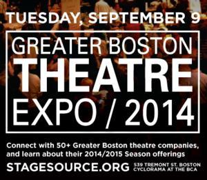 Theatre Companies Unite for Free Second Greater Boston THEATRE EXPO 2014 on 9/9