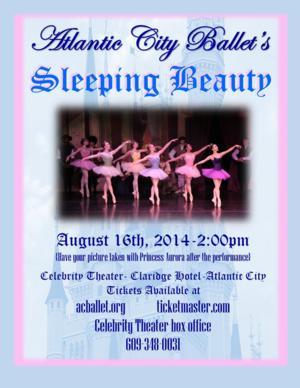 Atlantic City Ballet Opens 32nd Season with SLEEPING BEAUTY Tonight