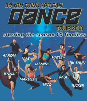 SO YOU THINK YOU CAN DANCE Tour Plays Morris Performing Arts Center Tonight