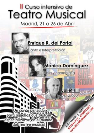 Vuelven los Cursos Intensivos de Teatro Musical de Enrique R. del Portal