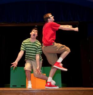 Alley Theatre Now Touring OSKAR AND THE BIG BULLY BATTLE
