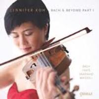 Jennifer Koh's Bach & Beyond Part 1 on CD 10/30
