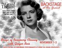The Grand Theatre's 'Backstage at The Grand' Series Continues 11/1 With Ginger Bess