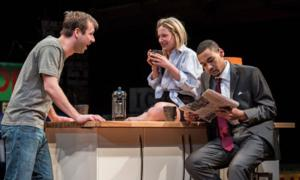 BWW Reviews: BUZZER at The Goodman a Revelation