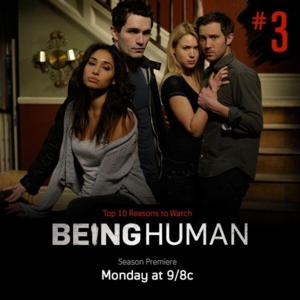 Stars of Syfy's BEING HUMAN Set for Google+ Hangout, 1/13