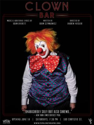 Pipeline Theatre Company Announces Second Extension of Noir Comedy CLOWN BAR Thru 9/27