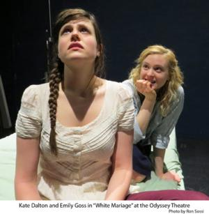 WHITE MARRIAGE Runs 4/5-5/25 at Odyssey Theatre