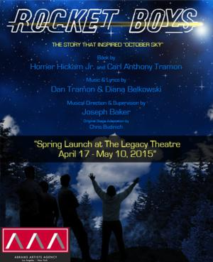 Legacy Theatre Developing ROCKET BOYS Musical; Runs 4/17-5/10
