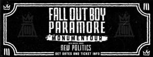Fall Out Boy, Paramore & More Set for This Summer's MONUMENTOUR