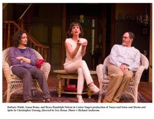 BWW Reviews: VANYA AND SONIA AND MASHA AND SPIKE at Center Stage - What a Hoot!