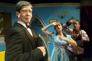 BWW Reviews: DROP DEAD! Celebrates the Hilarity of Live Theater Gone Wrong!
