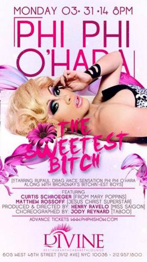 'DRAG RACE' Star Phi Phi O'Hara Brings New Show to Stage 48 Tonight