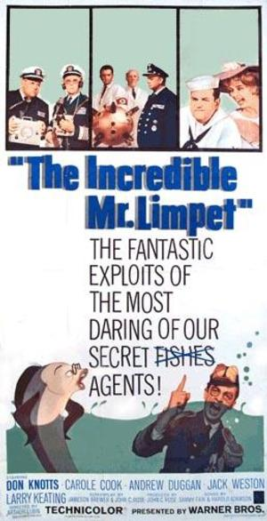 Jon Hamm, Kevin Hart, Danny McBride, Sarah Silverman, Josh Gad and Key & Peele All in Talks for THE INCREDIBLE MR. LIMPET Movie