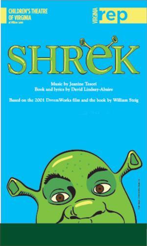 Virginia Rep Presents SHREK: THE MUSICAL, Now thru 4/27