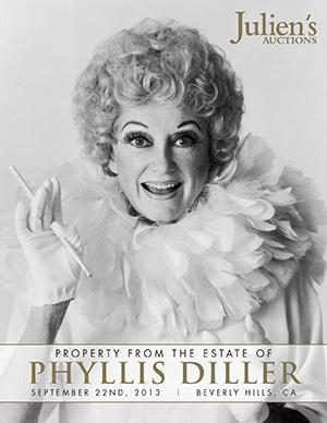 Julien's Auctions Presents Phyllis Diller Exclusive Property Memorabilia Today