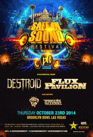 SAFE IN SOUND FESTIVAL to Kick Off at Brooklyn Bowl Las Vegas, 10/23