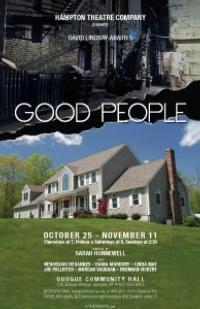 GOOD PEOPLE Launches Hampton Theatre Company's 28th Season Tonight, 10/25