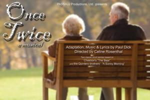 Musical Adaptations ONCE/TWICE Open at Roy Arias Stage IV on 5/16