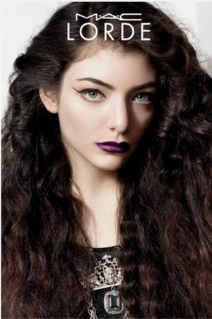 Lorde Teams Up with MAC Cosmetics