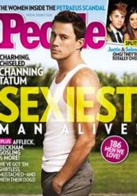 People Magazine Names Channing Tatum 'Sexiest Man Alive'!