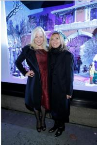 Megan Hilty Performs at Lord & Taylor's Holiday Window Unveiling