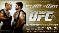 UFC 154: St-Pierre vs. Condit Brings Welterweight Championship Fight to the Big Screen 11/17