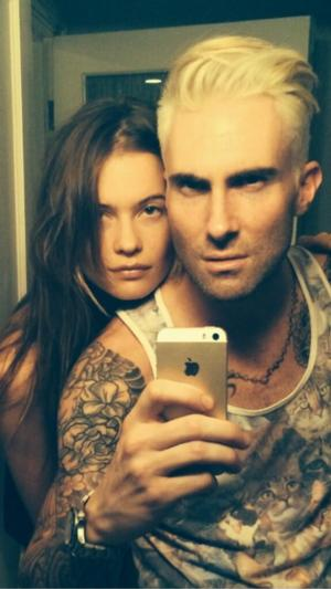 Adam Levine Reveals All-New 'Apocalypse Prep' Look!