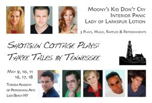 Mississippi Mud to Present SHOTGUN COTTAGE PLAYS, Begin. 5/9