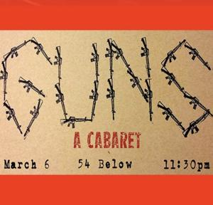 Elizabeth Swados to Helm GUNS Cabaret at 54 Below, 3/6