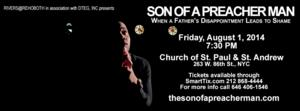 DTEG and Rivers at Rehoboth Present SON OF A PREACHER MAN Tonight