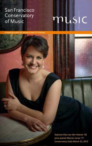 San Francisco Conservatory of Music Announces 2014-15 Season