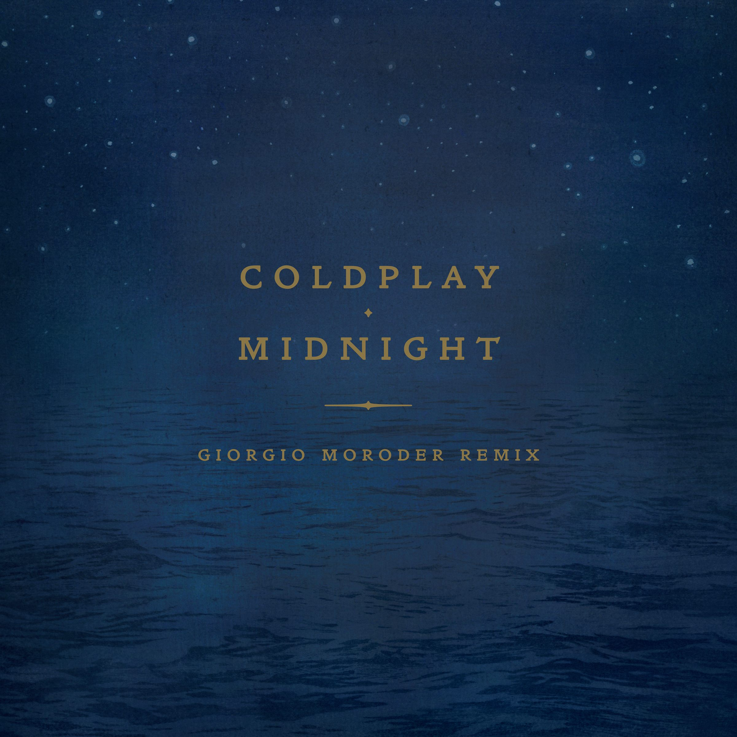 Coldplay Announce Giorgio Moroder Remix of 'Midnight'