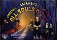 Sarah Rice Brings ALL SOULS NIGHT to Birdland Tonight, 10/27