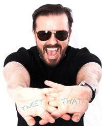 Ricky Gervais Vows to Host SNL in 2013