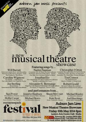 Naaman, Barratt and More In NEW MUSICAL THEATRE SHOWCASE, May 30