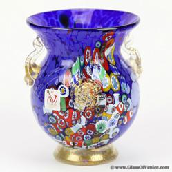 GlassOfVenice.com Presents Murano Art Glass Vases