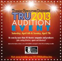 TRU's 2013 Combined Audition Event Sets Registration Deadline for 3/31
