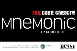 Tickets Go on Sale 8/1 for Complicite's MNEMONIC at Red Tape Theatre