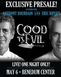 Anthony Bourdain & Eric Ripert Come to Pittsburgh, May 2013