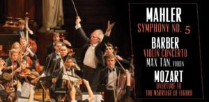 Boston Philharmonic Youth Orchestra, Max Tan and More Play Mozart, Barber and Mahler Tonight