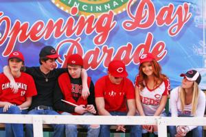 Music Video MILE A MINUTE Features Jetset Getset in Cincinnati Reds Opening Day Parade