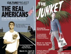 BWW Interview: Stars of THE JUNKET and THE REAL AMERICANS Talk Journalism, Politics and 'Cotton Mouth' Syndrome