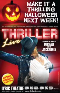 THRILLER LIVE Announces Lyric Theatre's Halloween Makeover