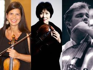 Pamela Frank, Nobuko Imai, and Clemens Hagen Perform Bach's GOLDBERG VARIATIONS Tonight